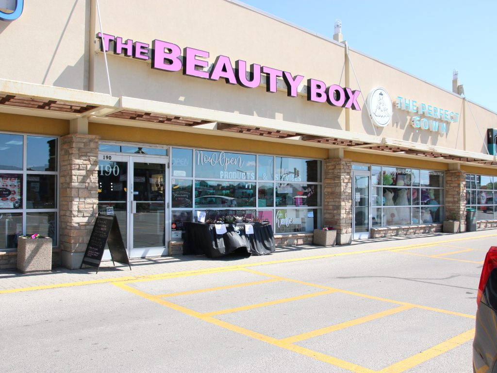 the beauty box by sheriff in winnipeg canada ellice ave
