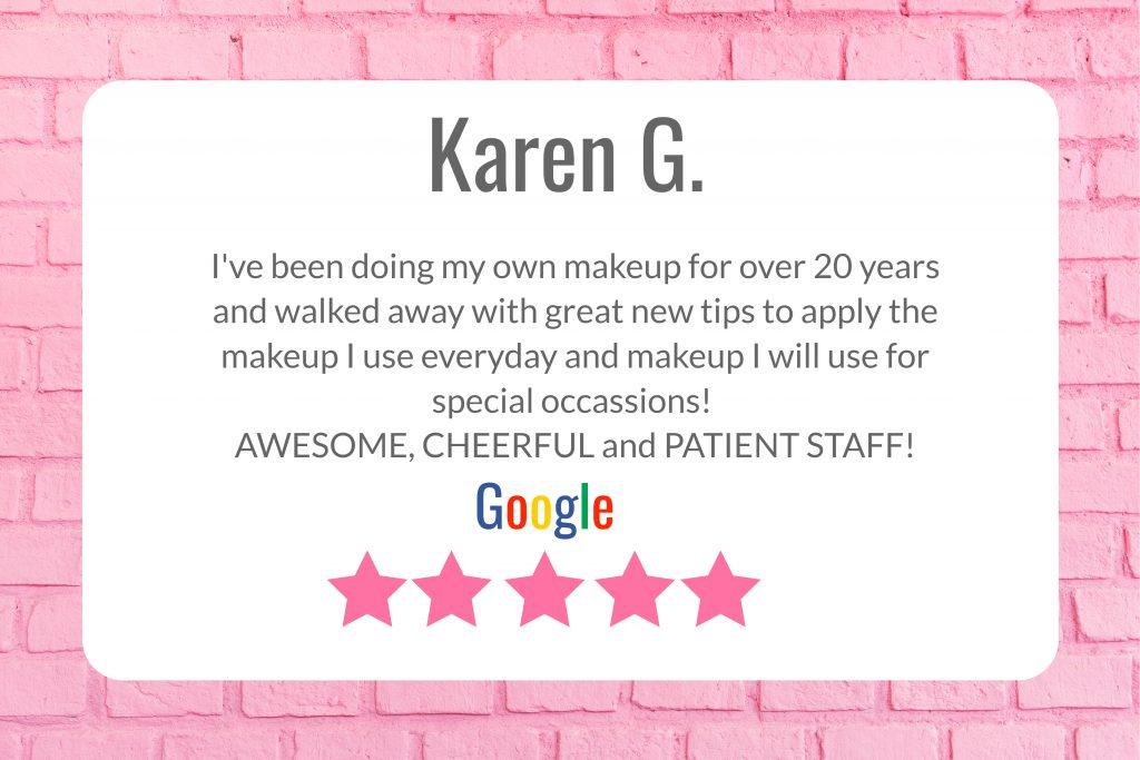 customer reviews on personal makeup class